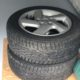 4 Mazda6 alloy wheels, 2003-2008