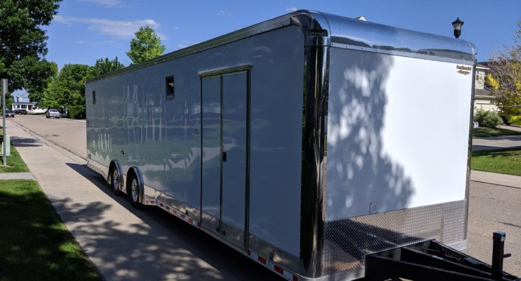 2018 Enclosed Vehicle Trailer – empty