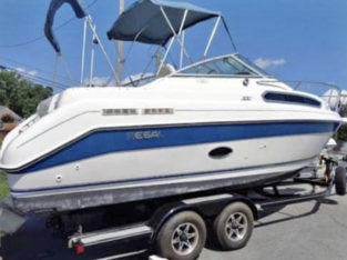 1995 25' Regal Boat/Trailer