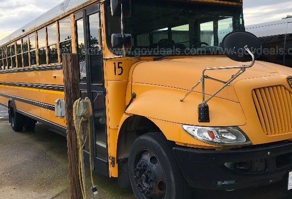 Need to move a 2013 International 3000 School bus