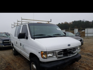 Ford,Econoline E350 Super Duty Van,2000